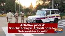 Anti-CAA protest: Vanchit Bahujan Aghadi calls for Maharashtra