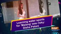 Learning water sports for