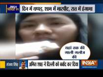 Amit Malaviya posts a clip of student, claim to be beaten by students of left wing