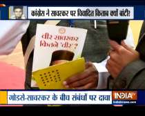 Congress booklet makes sensational claims on Veer Savarkar, family demands ban on controversial booklet