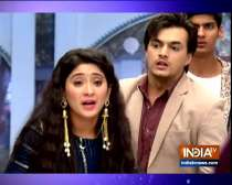 Naira comes to know the reality of Luv Kush