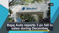 Bajaj Auto reports 3 pc fall in sales during December