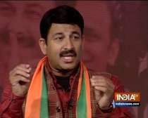 Manoj Tiwari defends remarks of Anurag Thakur, Parvesh Verma