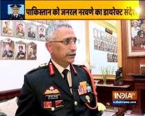 EXCLUSIVE: New army chief General Manoj Mukund Naravane speak to India TV