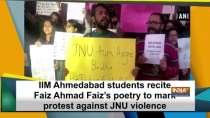 IIM Ahmedabad students recite Faiz Ahmad Faiz