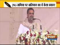 Sanjeev Balyan stirs controversy with remark on ongoing CAA protests in Jamia, JNU