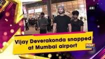 Vijay Deverakonda snapped at Mumbai airport