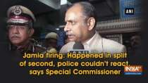 Jamia firing: Happened in split of second, police couldn