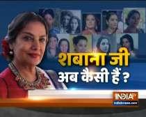 Shabana Azmi heath update: Actress doing much better now