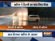 Parts of Delhi-NCR witness moderate to heavy rain