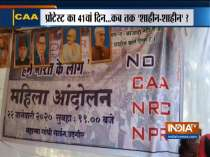 Delhi: Shaheen Bagh anti-CAA protest enters 41st day today