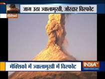 Popocatepetl volcano erupts in Mexico