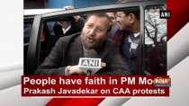 People have faith in PM Modi: Prakash Javadekar on CAA protests