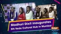 Madhuri Dixit inaugurates 5th Veda Cultural Hub in Mumbai