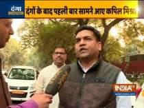 I had only appealed to clear the roads: Kapil Mishra says on his controversial statement