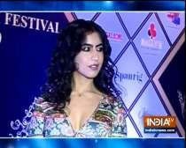 TV celebrities at the red carpet of Dada Saheb Phalke International Award Show