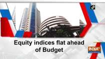 Equity indices flat ahead of Budget