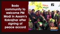 Bodo community to welcome PM Modi in Assam