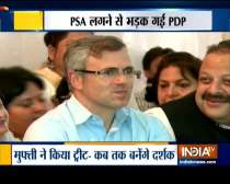 Jammu and Kashmir: Omar Abdullah, Mehbooba Mufti booked under PSA