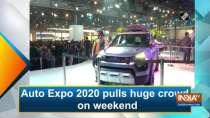 Auto Expo 2020 pulls huge crowd on weekend