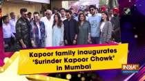 Kapoor family inaugurates