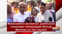 Maharashtra Governor, politicians remember Chhatrapati Shivaji Maharaj on his Jayanti
