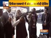 PM Modi inaugurates Defence Expo 2020 in Lucknow