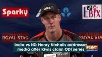 India vs NZ: Henry Nicholls addresses media after Kiwis claim ODI series
