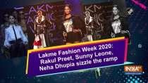 Lakme Fashion Week 2020: Rakul Preet, Sunny Leone, Neha Dhupia sizzle the ramp
