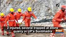 2 injured, several trapped at stone quarry in UP