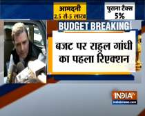 Rahul Gandhi reacts to Union Budget 2020, says there was nothing related to job creation for youths