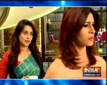 Nishi Bua gives 24 hours ultimatum to Sonakshi in serial Kahaan Hum Kahaan Tum