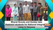 Bharat Scouts and Guides take Kashmiri students for National Integration camp in Haryana