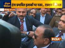 NSA Ajit Doval reaches Maujpur to take stock of situation, says things are under control