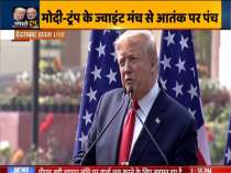 India and The United States stand together in their fight against terrorism: Trump