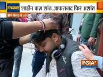 India TV cameraman injured during stone pelting at Jaffrabad CAA protest