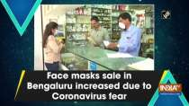Face masks sale in Bengaluru increased due to Coronavirus fear