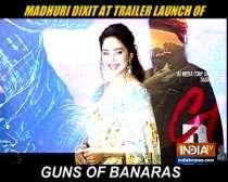 Madhuri Dixit attends trailer launch of Guns Of Banaras