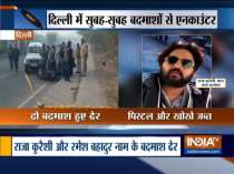 Two criminals killed in an encounter with Delhi Police Special Cell in Pul Prahladpur area in Delhi