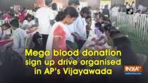 Mega blood donation sign up drive organised in AP