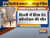 Head constable killed during clashes in northeast Delhi