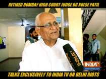 Exclusive: Kapil Mishra's speech an offense under law, says Justice (retd) BG Kolse Patil