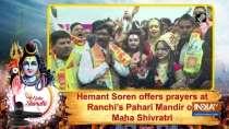 Hemant Soren offers prayers at Ranchi