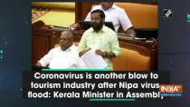 Coronavirus is another blow to tourism industry after Nipa virus, flood: Kerala Minister in Assembly