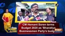 CM Hemant Soren terms Budget 2020 as