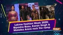 Lakme Fashion Week 2020: Bipasha Basu, Karan Singh and Malaika Arora rock the ramp