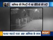 Jamia violence: New CCTV clips show protesters pelting stones at Delhi Police