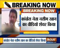 Fact Check: Sambit Patra Shares Video Claiming Congress leader Naseem Khan