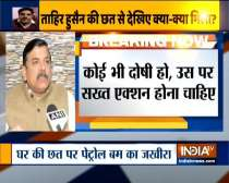 Tahir Hussain asked police for protection during the violence: AAP leader Sanjay Singh