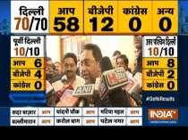 Madhya Pradesh Chief Minister Kamal Nath on Congress performance in Delhi elections